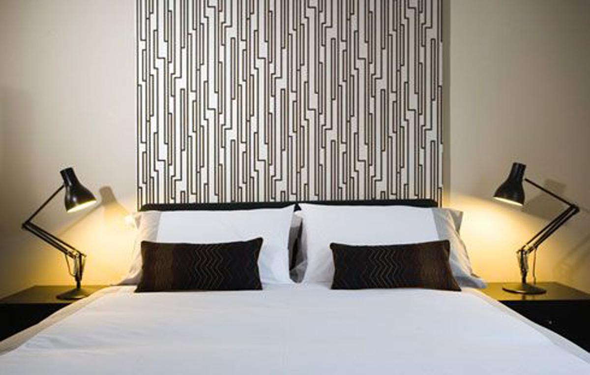 Modern apartment in dublin from award winner architect bedroom
