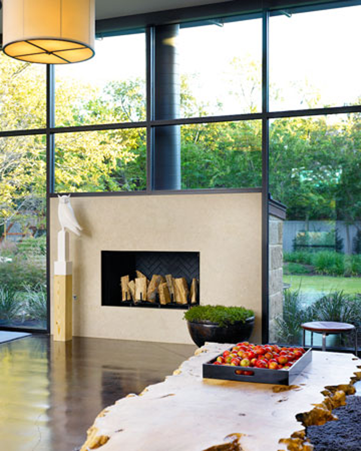 Modern interior design ideas from alice cottrell fireplace