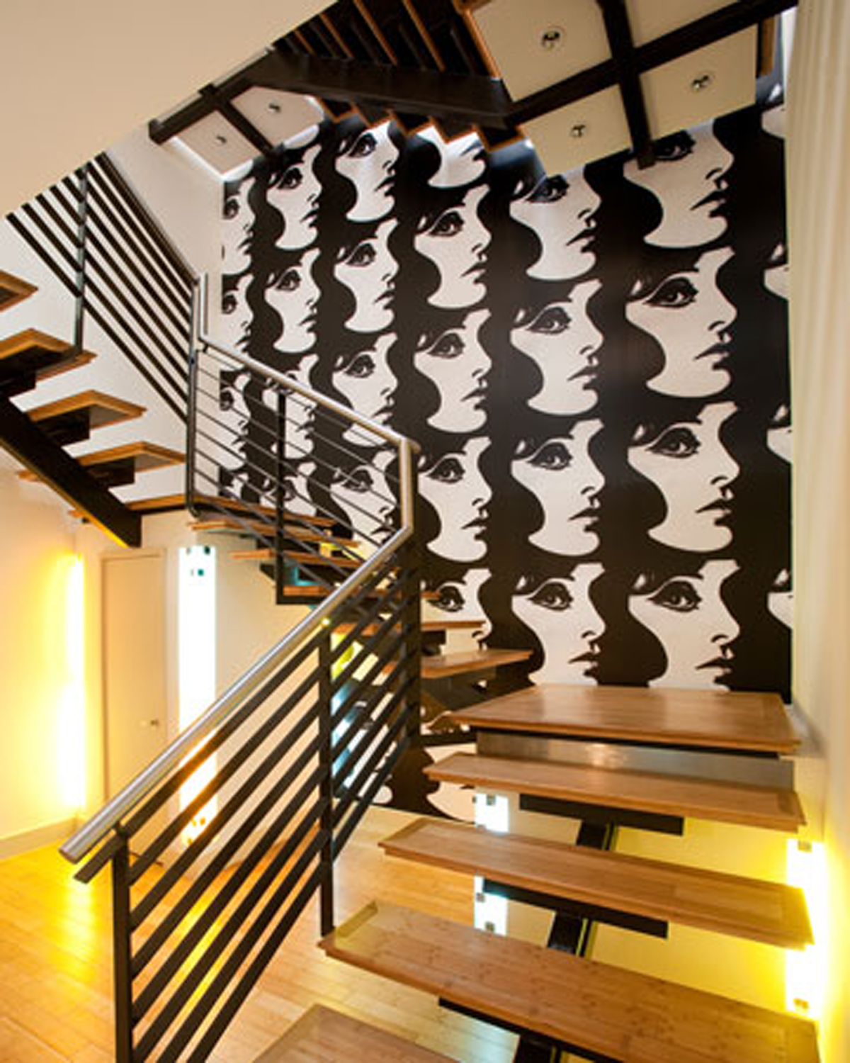 Modern interior design ideas from alice cottrell staircase