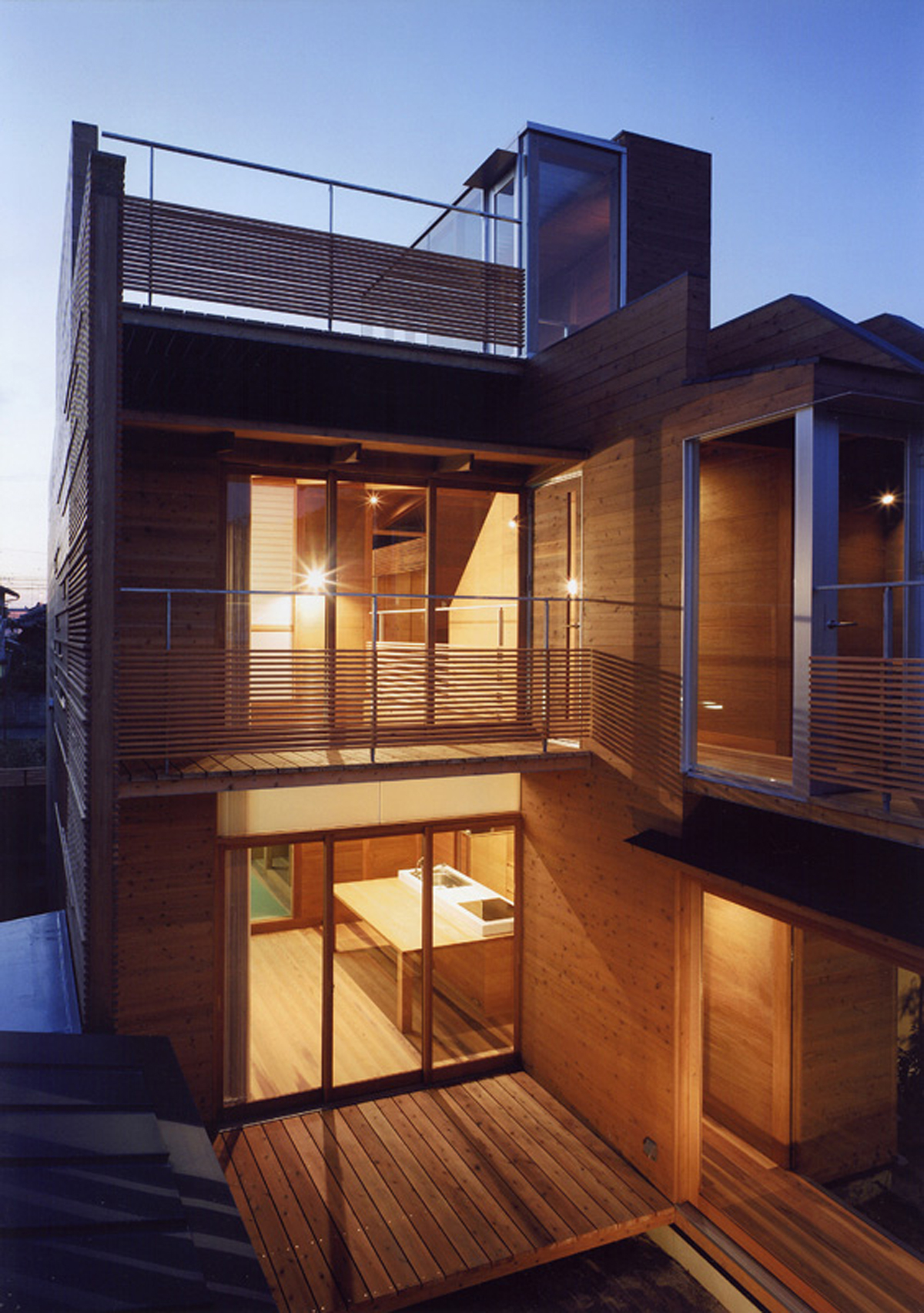 Modern Wooden House From Japanese Architect
