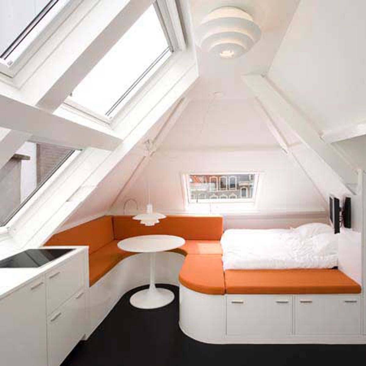 Small Loft Apartment, A Beautiful Design from Queeste Architecten ...