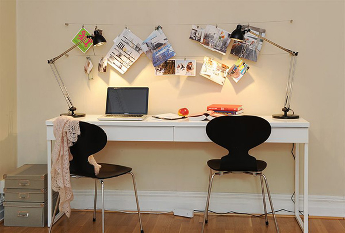 - Two Rooms Apartment Ideas, A Comfortable Design Flat – Working Desk