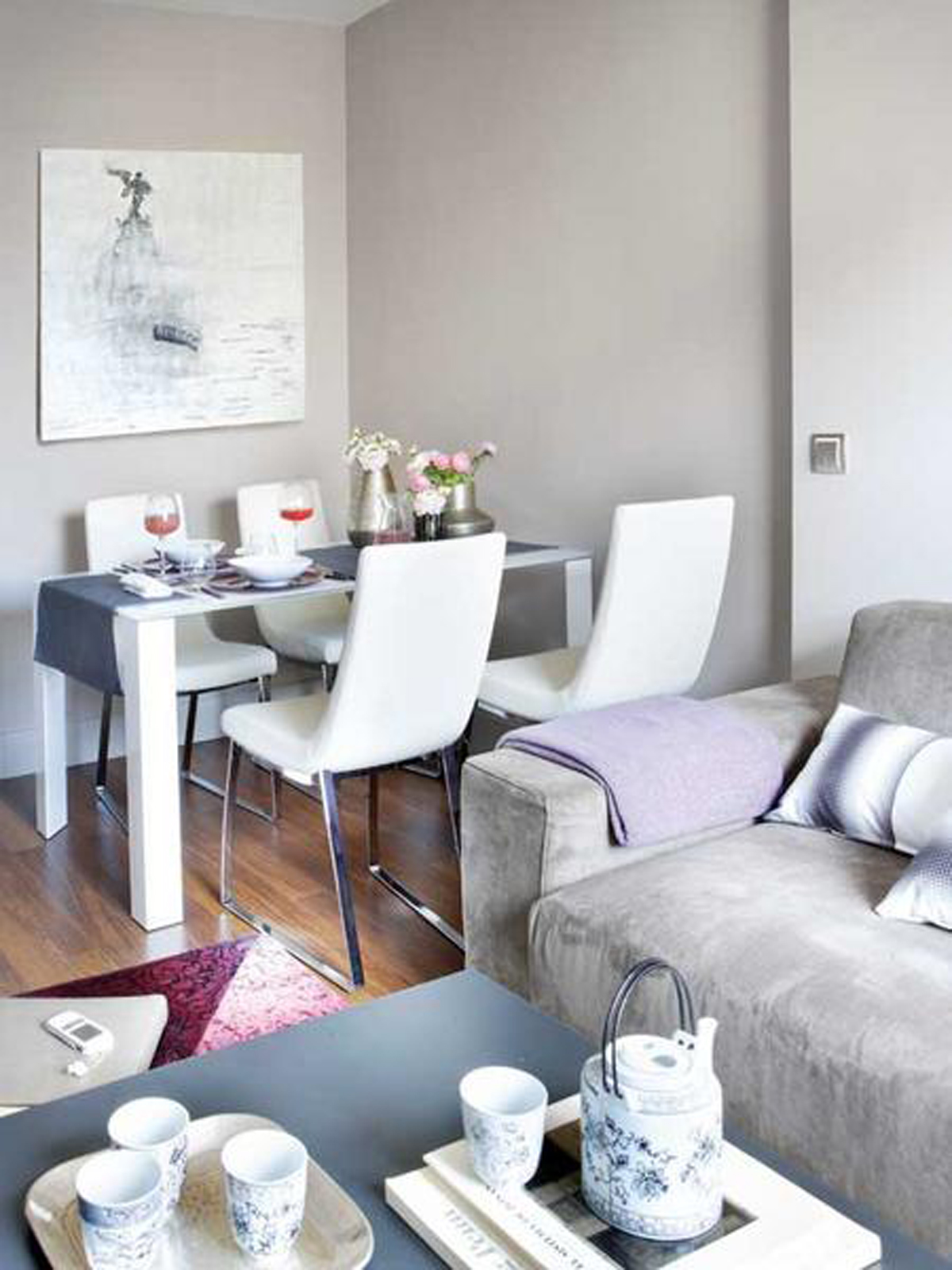 Cozy And Stylish Apartment Design Gorgeous Interior Ideas Dining Room