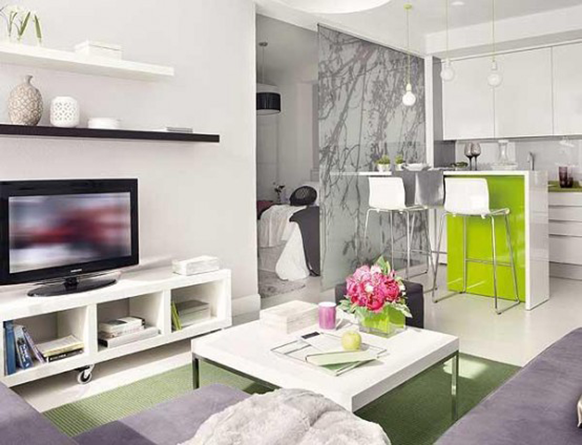 Intrinsic Interior Design Applied In Small Apartment Architecture Dining Room Viahouse Com