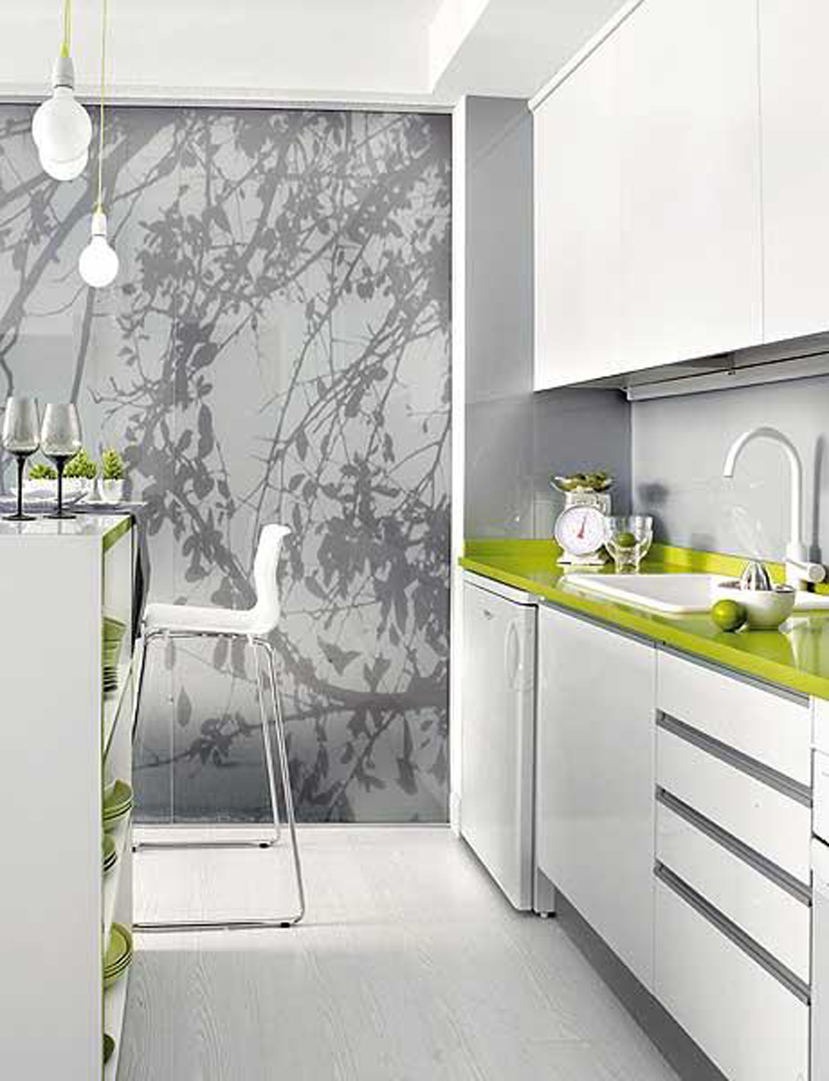 Intrinsic Interior Design Applied In Small Apartment Architecture