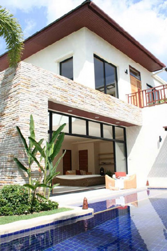 Luxury Dream Home Design At Hualalai By Ownby Design: Beautiful Homey Villa In Pattaya Thailand