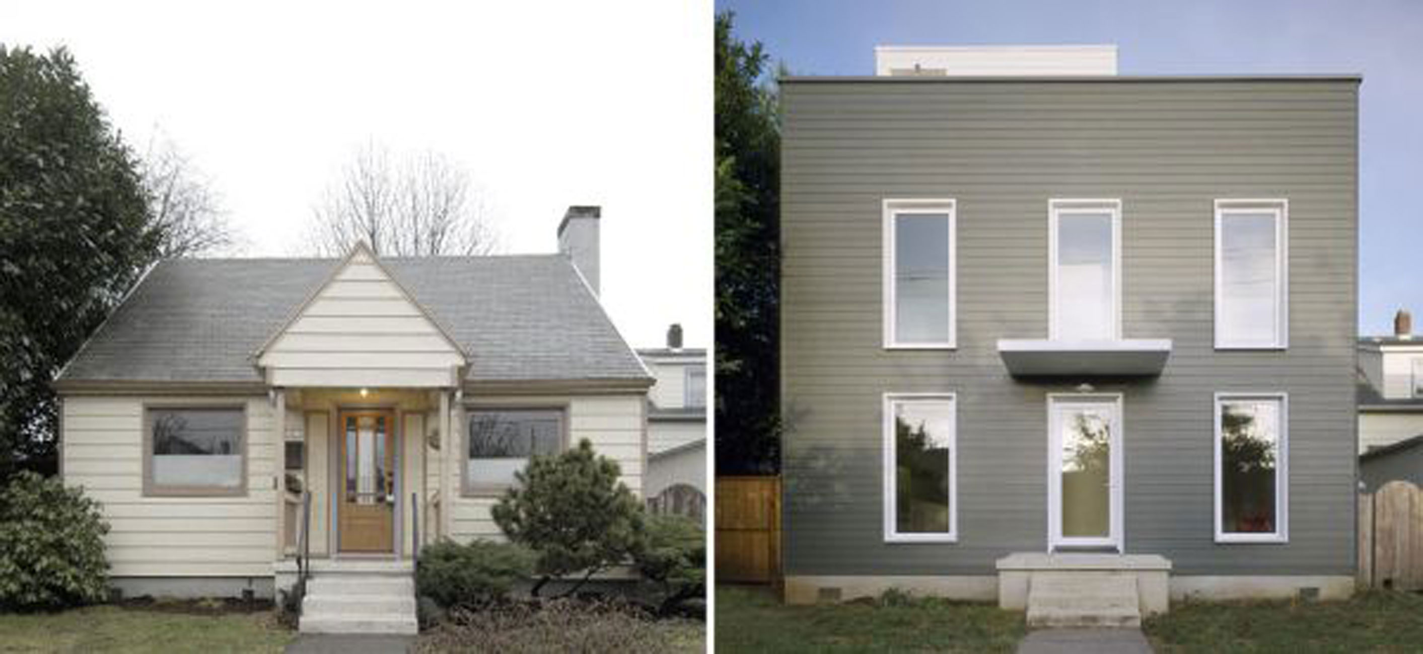 Beautiful Old House Renovated Into A Minimalist Style House Design