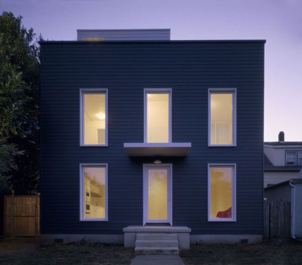 Beautiful Old House Renovated Into A Minimalist Style House Design   Windows
