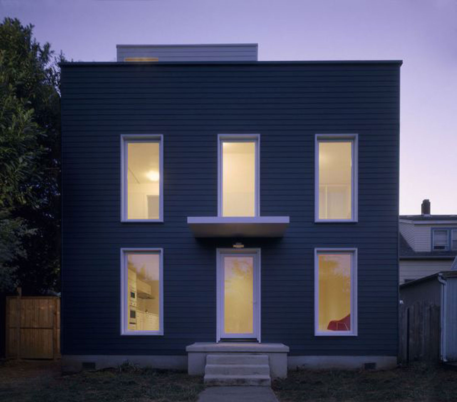 Beautiful Old House Renovated into A Minimalist Style House Design on gothic stained glass windows, architecture design windows, architectural windows, interior design windows, kitchen windows,