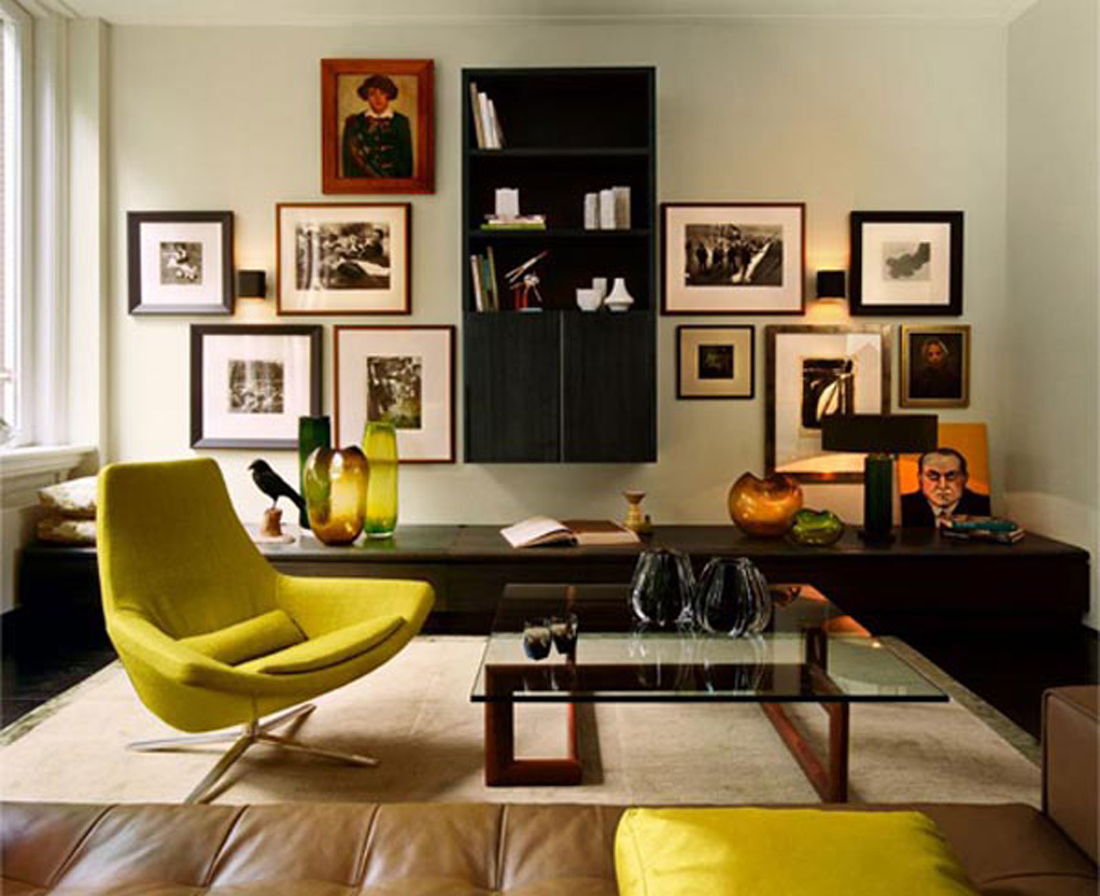 Contemporary Design And Dark Interior In Apartment Ideas By Kate Hume Viahouse Com