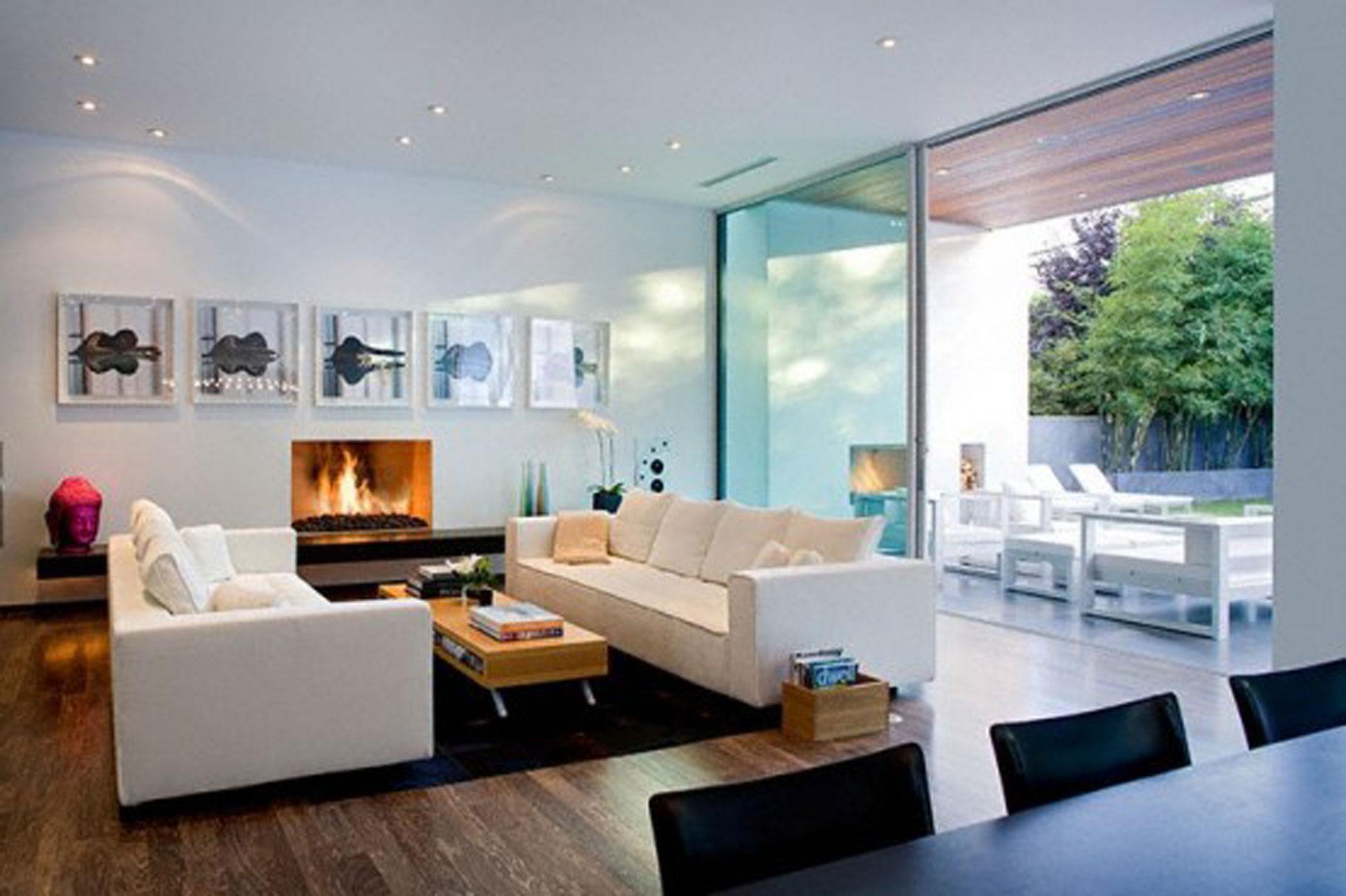 Modern House Design With Comfortable Interior Ideas Livingroom Viahouse Com