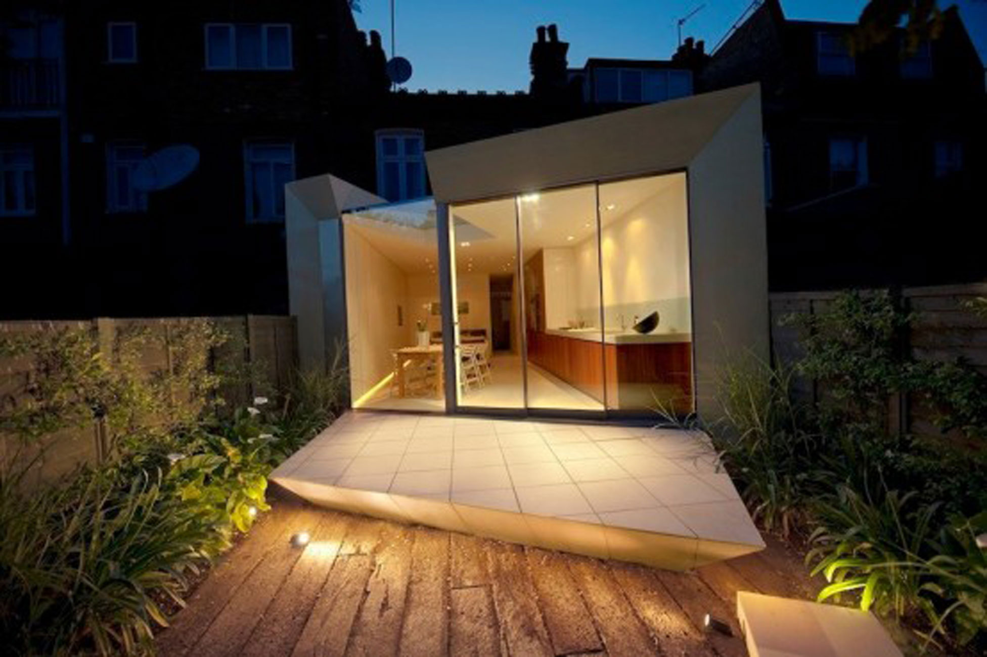 Simple Modern Terrace House Design In Londonhouse