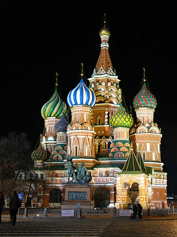 187 Impressive Cathedral Architecture In Moscow The Saint