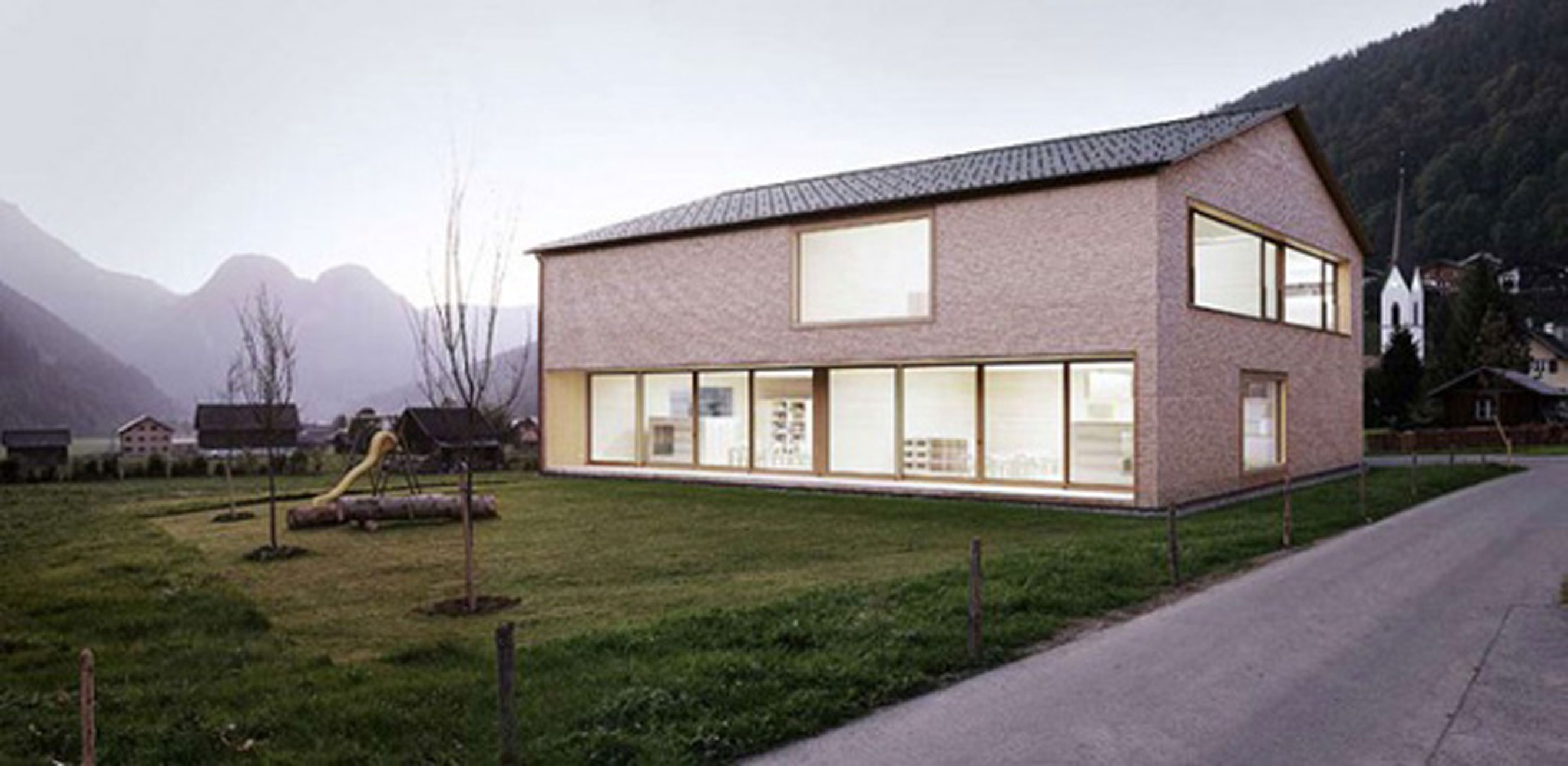 Minimalist Wooden House Ideas By Bernardo Bader Home Architecture
