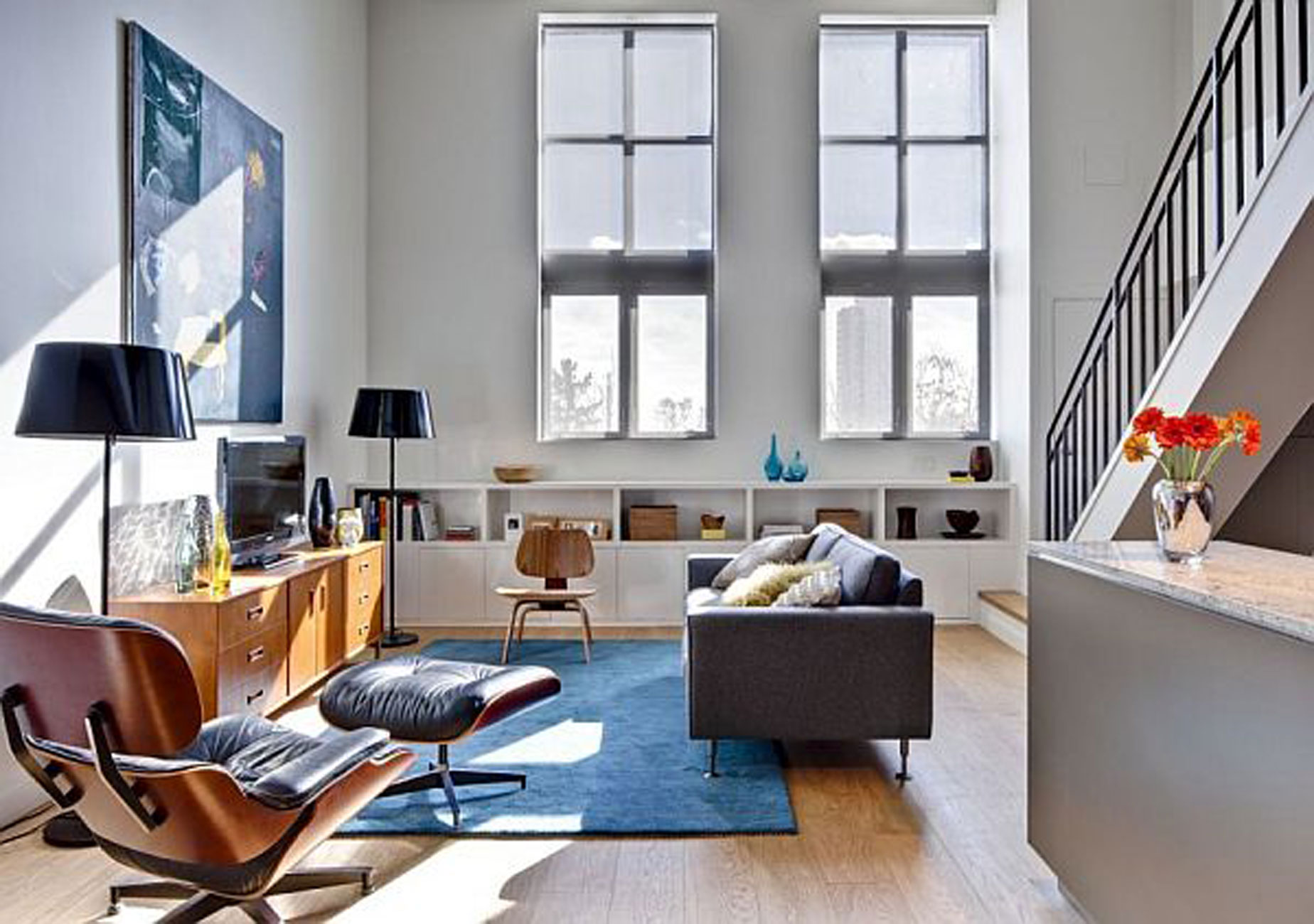 Modern Apartment Ideas from Beauparlant Design, the Riverdale Loft ...