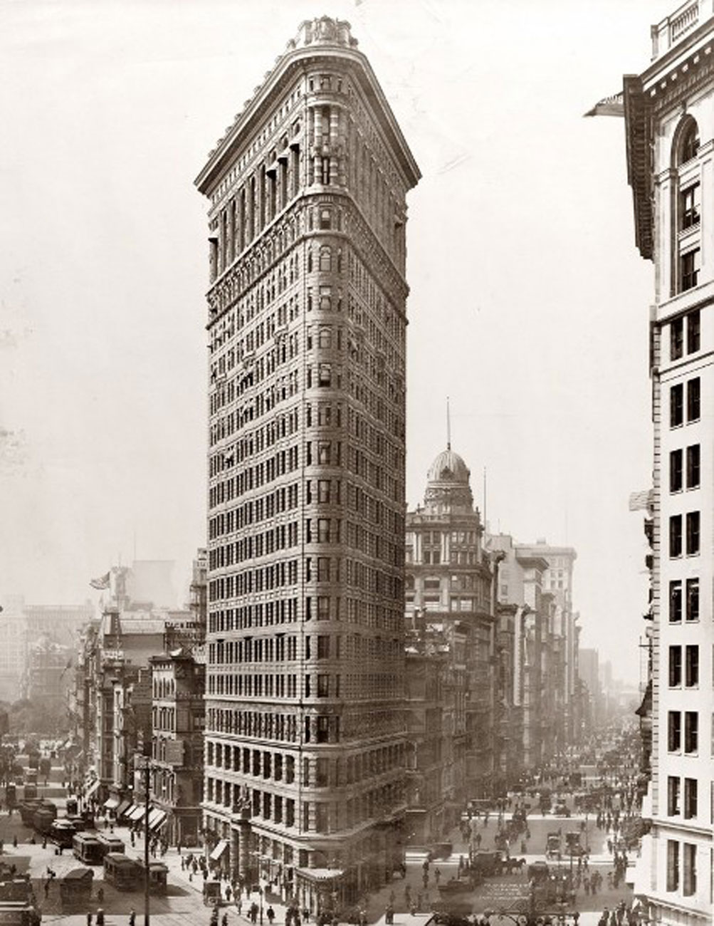 New York Landmark From 1902s Classic Architecture Of The Flatiron