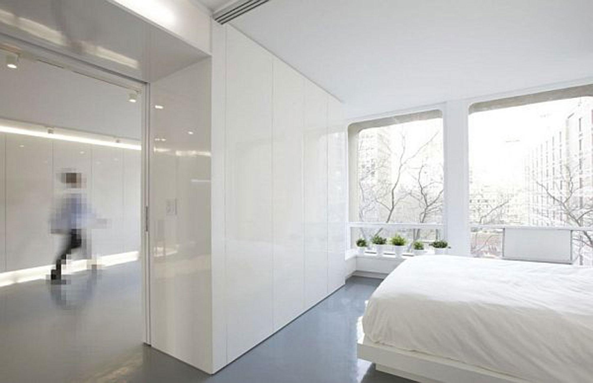 White Apartment Interior Ideas From Im Pei In New York