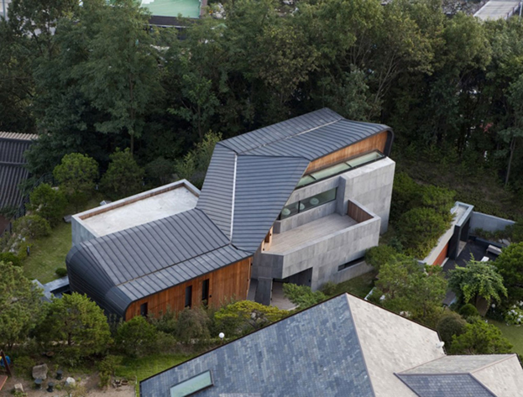 Z House Stunning Architecture Of A Modern House By Korean