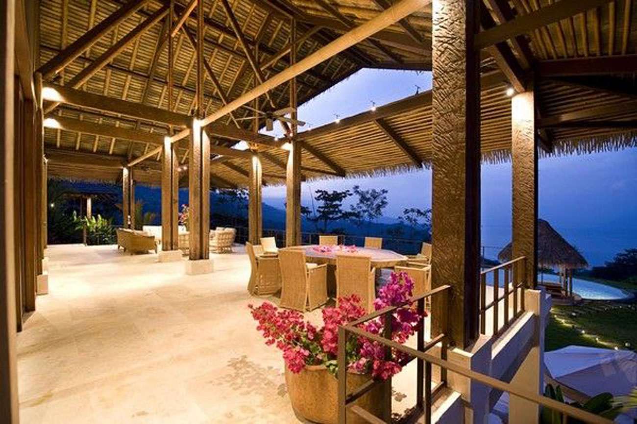 Villa Mayana Luxurious Private Retreat With Nature Environment In Costa Rica Dining Area