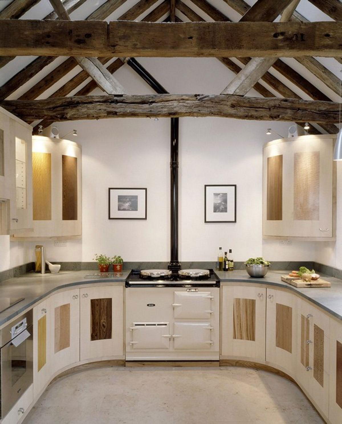 » U Shape Kitchen Designs