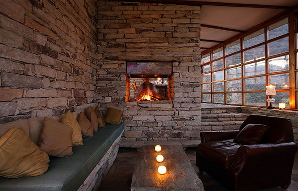 Wall Stone Living Room