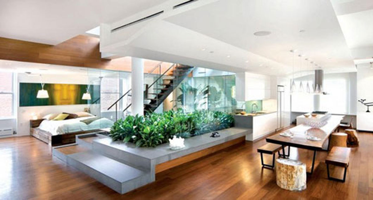 Welcoming penthouse layouts ideas