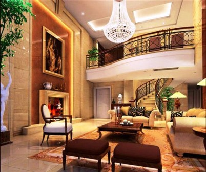 Elegan Interior Design With European Style Viahouse Com