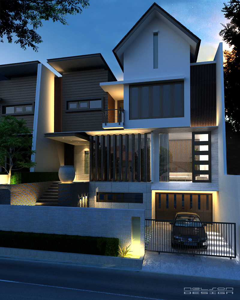 Home Designs October 2012: » House Plans For Narrow Lots
