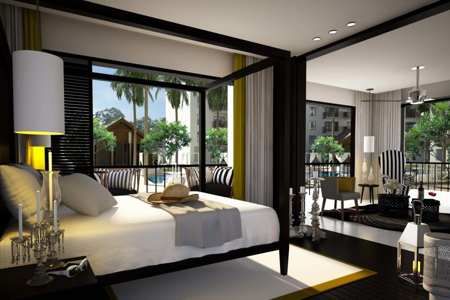 Modern Natural Master Bedroom Design Ideas Open Living Space