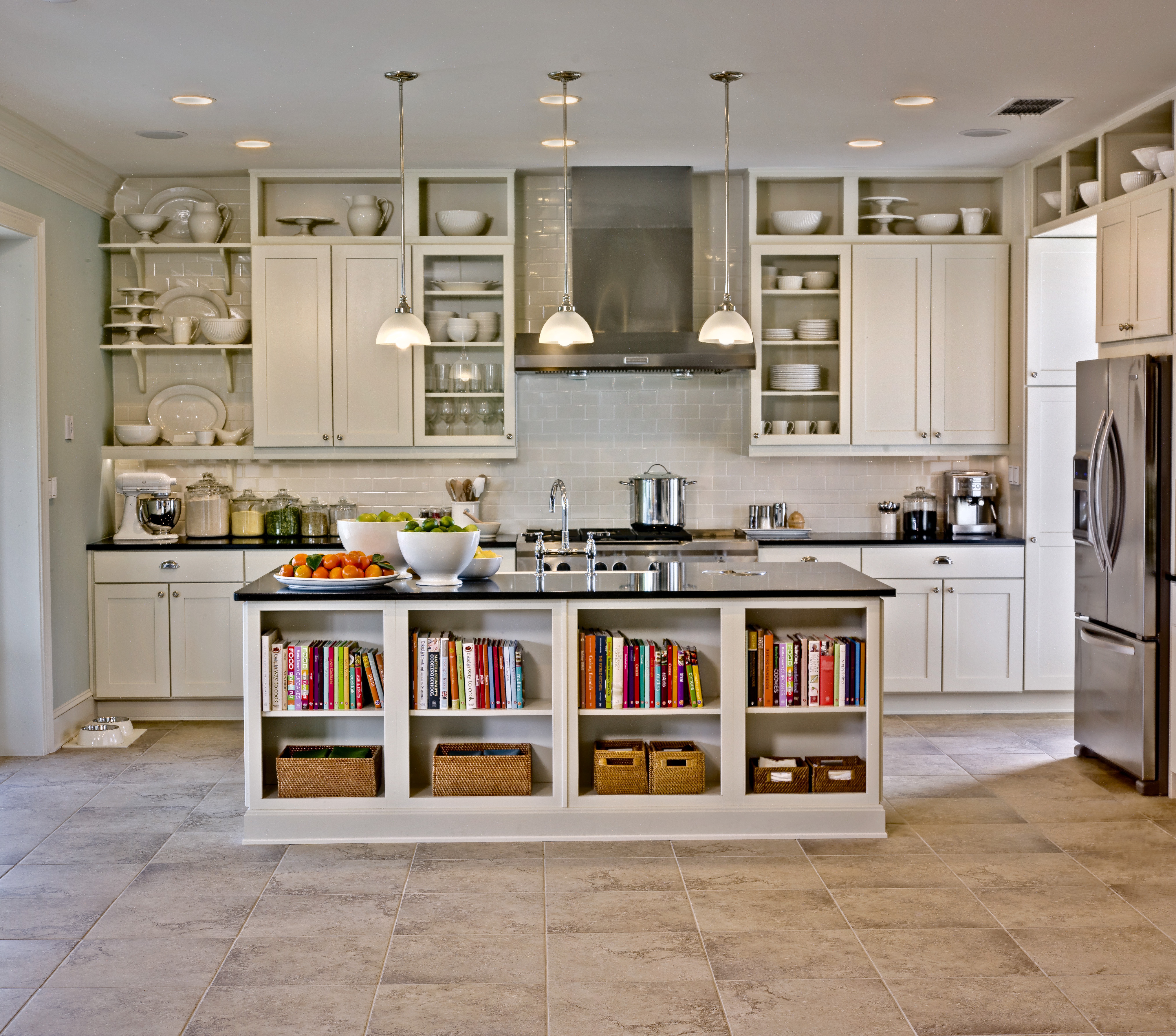 Beautiful Kitchen Cabinets Pictures White Modern Style Design