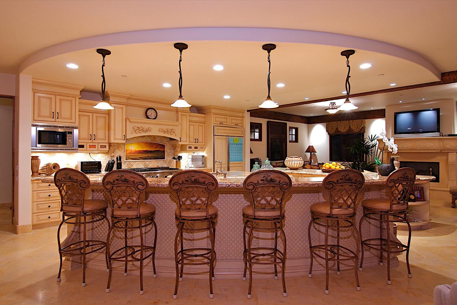 Marvelous Classic Arts Kitchen Lighting Design Wooden
