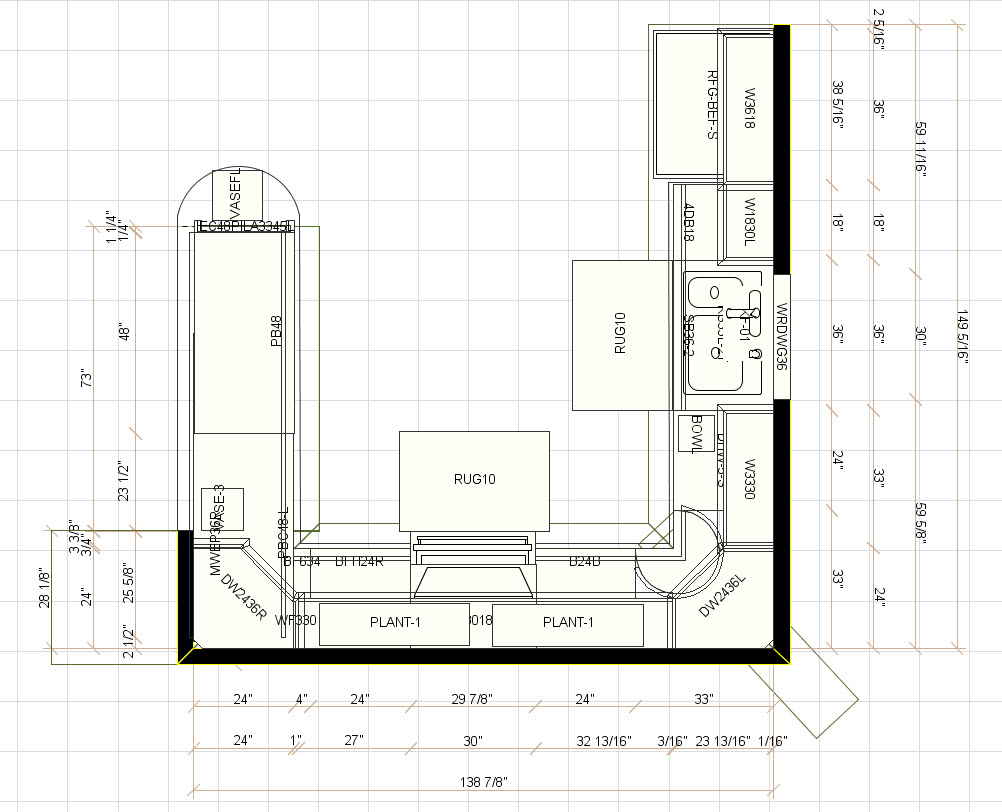 How To Read Kitchen Cabinet Plans Rigid Kitchen Floor Plans Fr Modern Home With Corner Kitchen