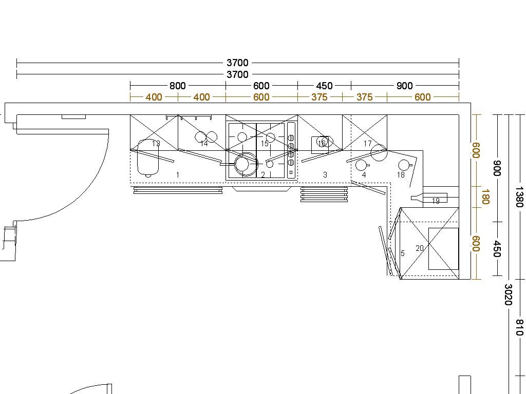 » Spacious Kitchen Corner Cabinet Stunning Kitchen Floor Plans
