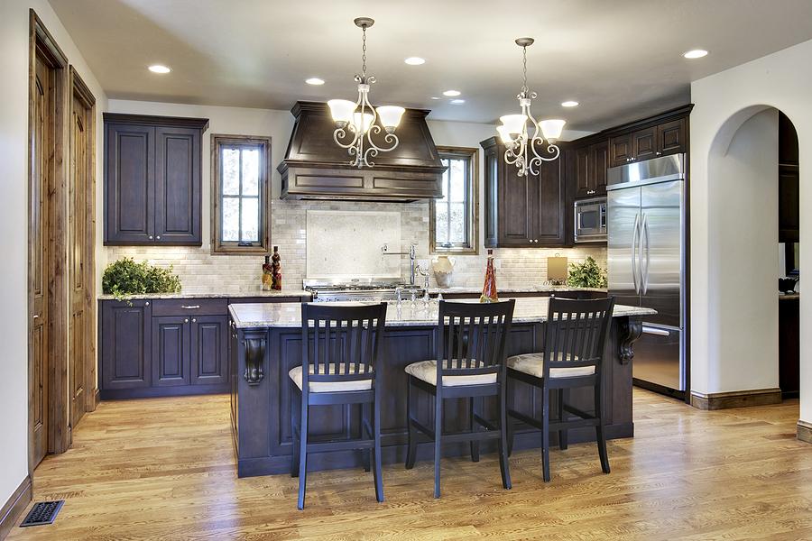 Stunning Kitchen Cabinet Ideas Brick Kitchen Backsplash Twin Chandelier Viahouse Com