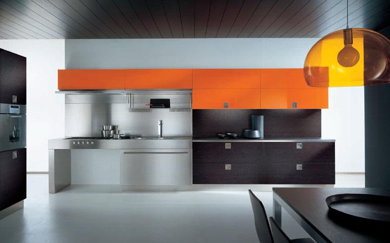 Wonderful Minimalist Modern Style Italian Kitchen Design Ideas