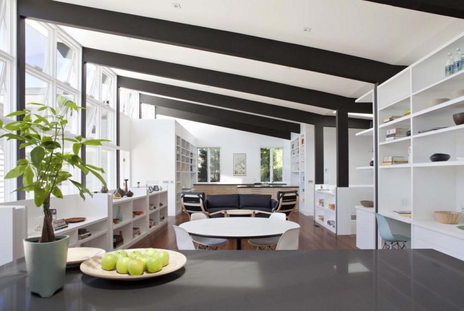 Net Zero Energy House Design Living Space