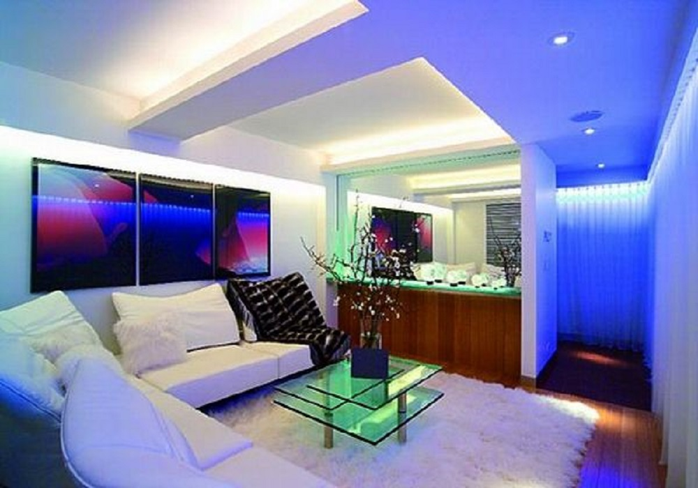 Led Light Home Interior Design