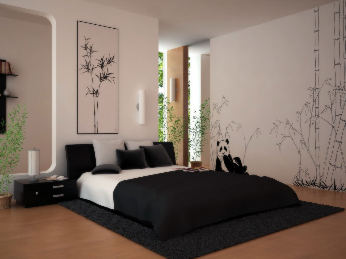 Cool Asian Bedroom Design