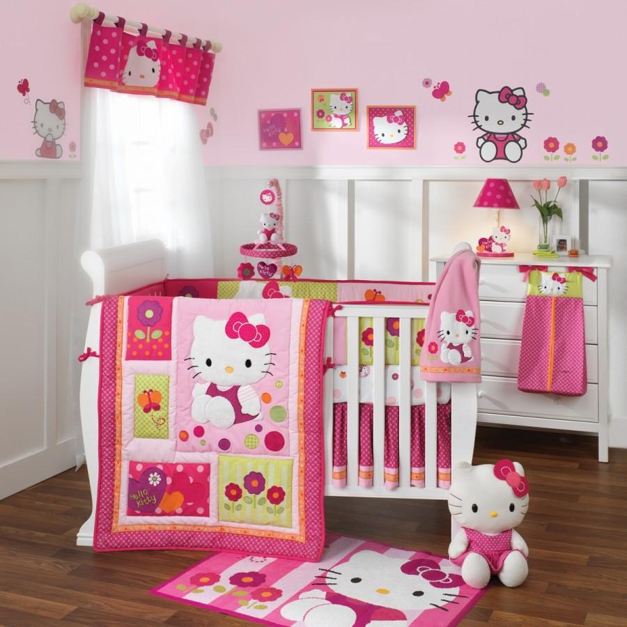 Hello Kitty Kids Room Design Idea