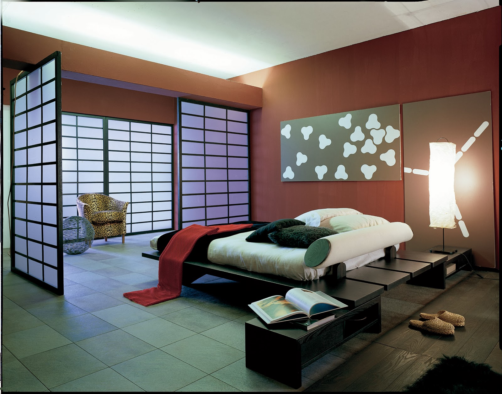Unique Modern Asian Bedroom Design