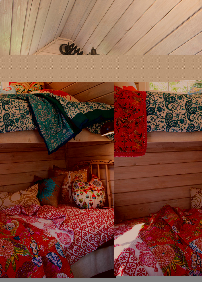 Children Room with Multilevel Beds