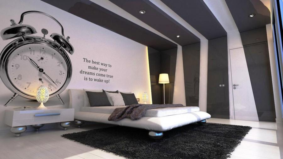 Black And White Men Bedroom Color Decorating Ideas Viahouse Com