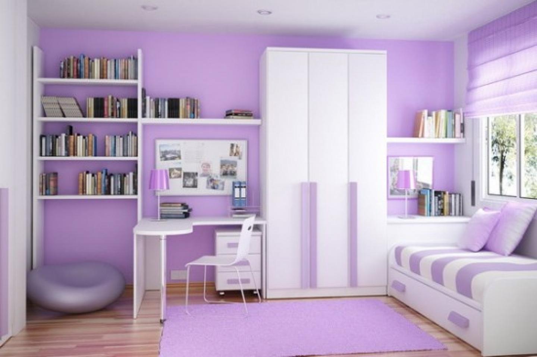 Purple Bedroom Wall Painting Ideas Viahouse Com
