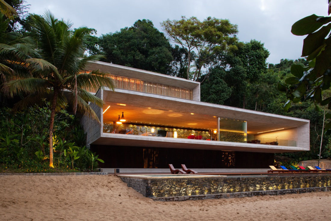 Modern Beach House Architecture Modern House Design Ideas