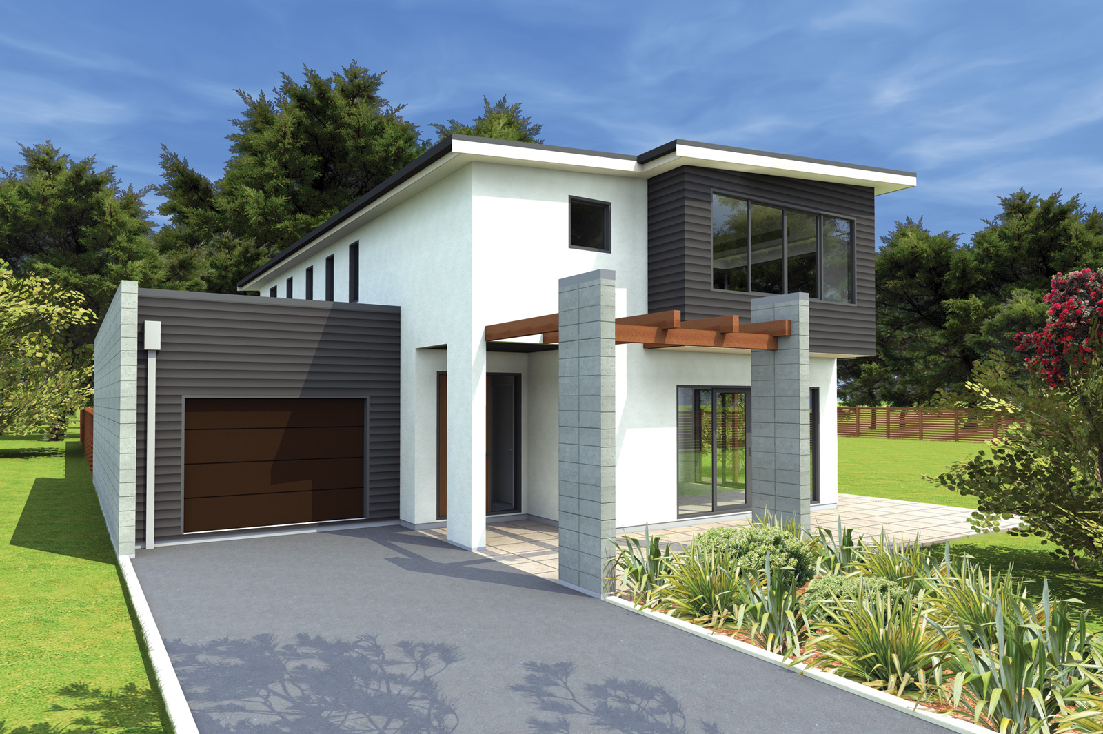 Modern Small House Architecture Ideas