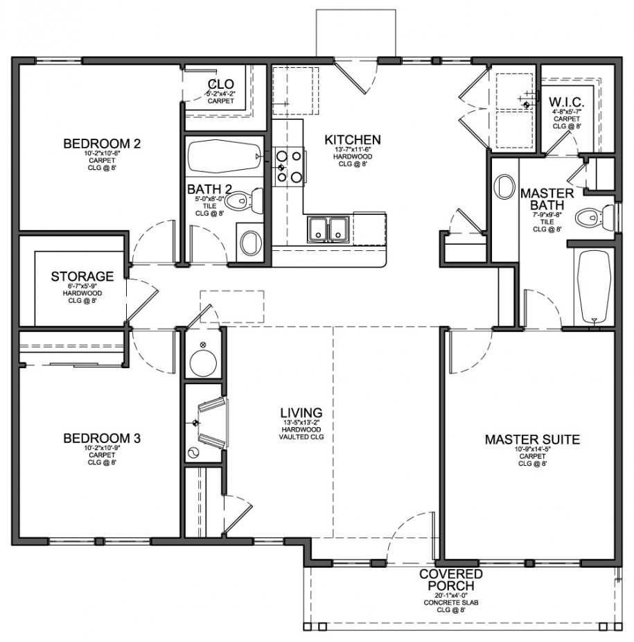 Minimalist Modern Home Design Plans