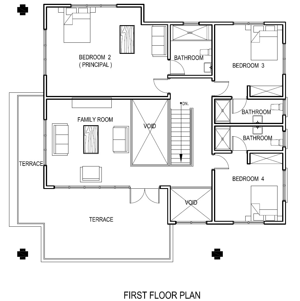 Attractive Modern Home Design Plans Pictures