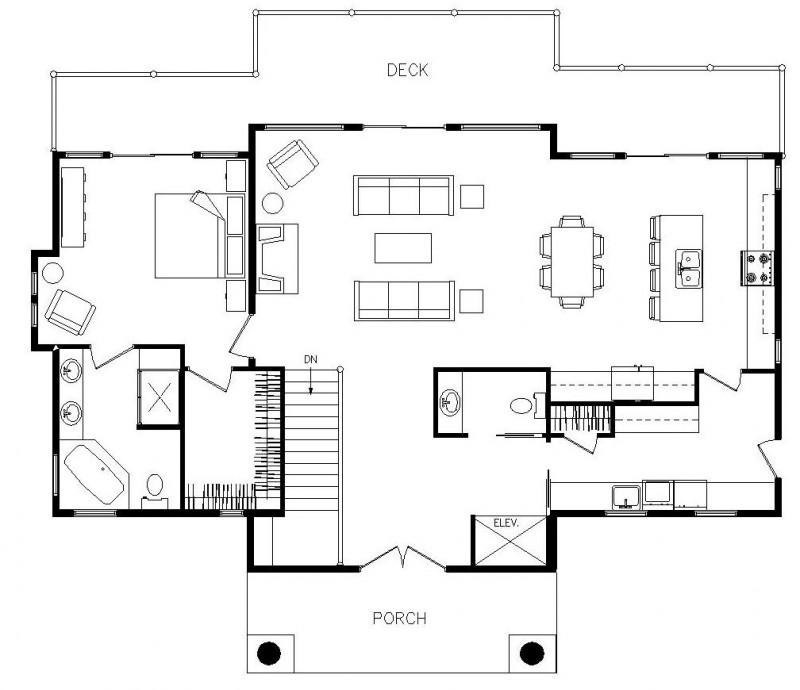 Modern House Floor Plans Architecture