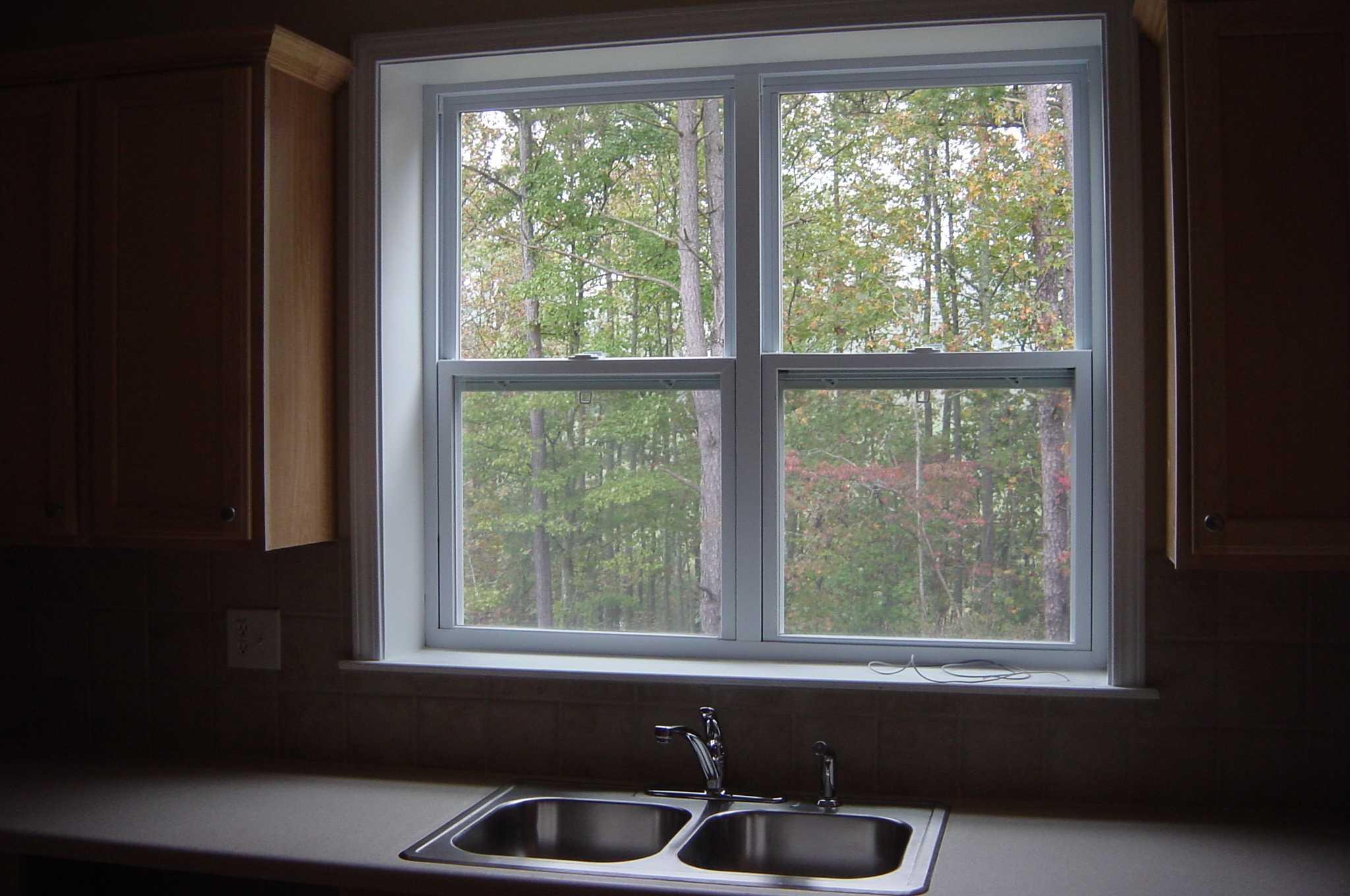 187 Kitchen Window Slide Over Sink