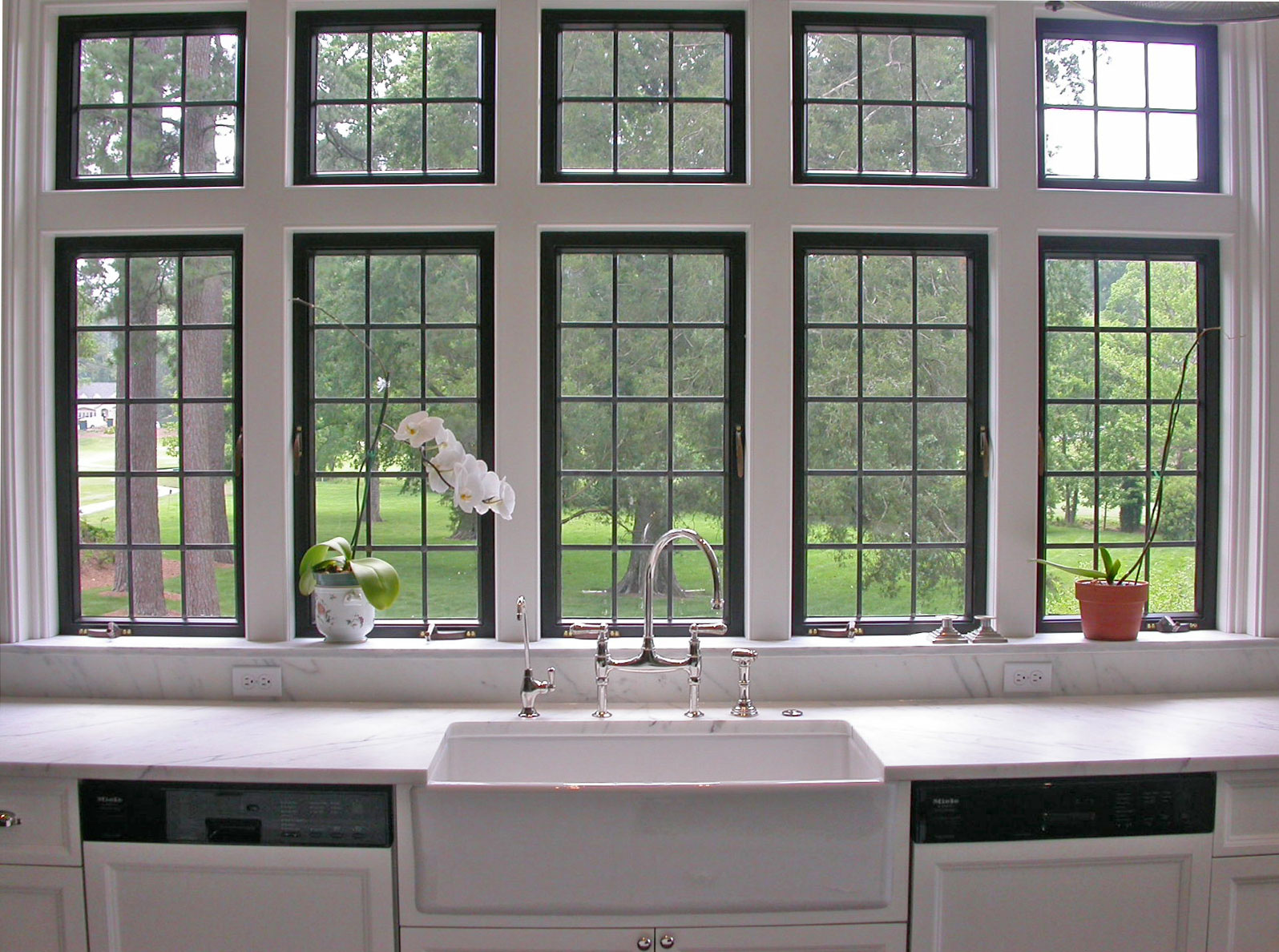Kitchen Windows Over Sink
